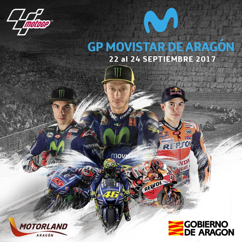 GP Movistar de Aragón 2017